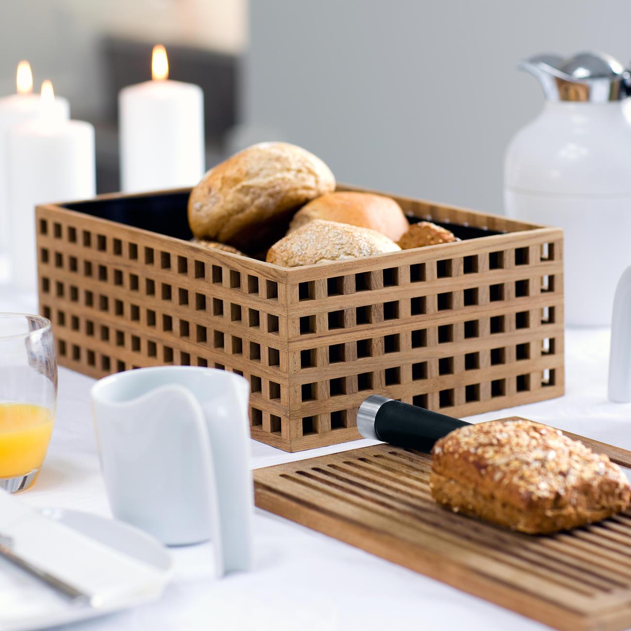 Pantry Brotkasten aus Teakholz