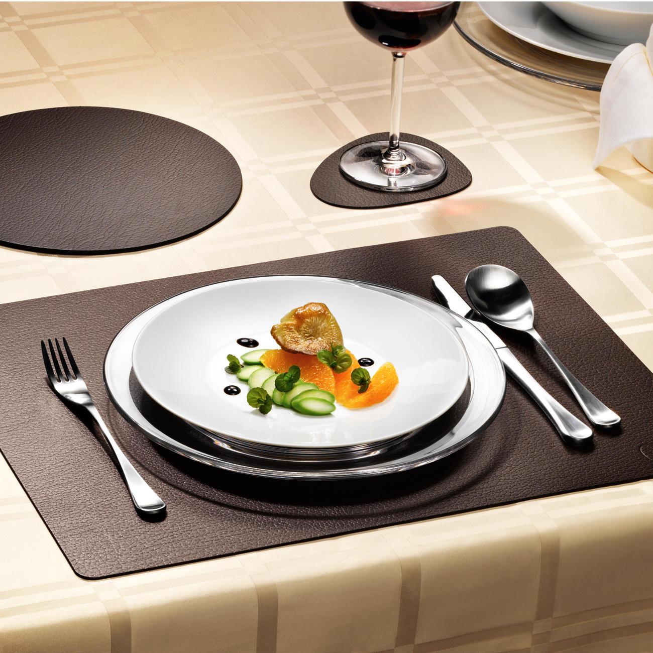 tischsets oval leder preisvergleich die besten angebote online kaufen. Black Bedroom Furniture Sets. Home Design Ideas