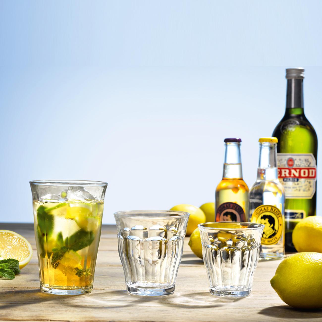Picardie-Gläser, 6er-Set, 250 ml / Whiskygläser