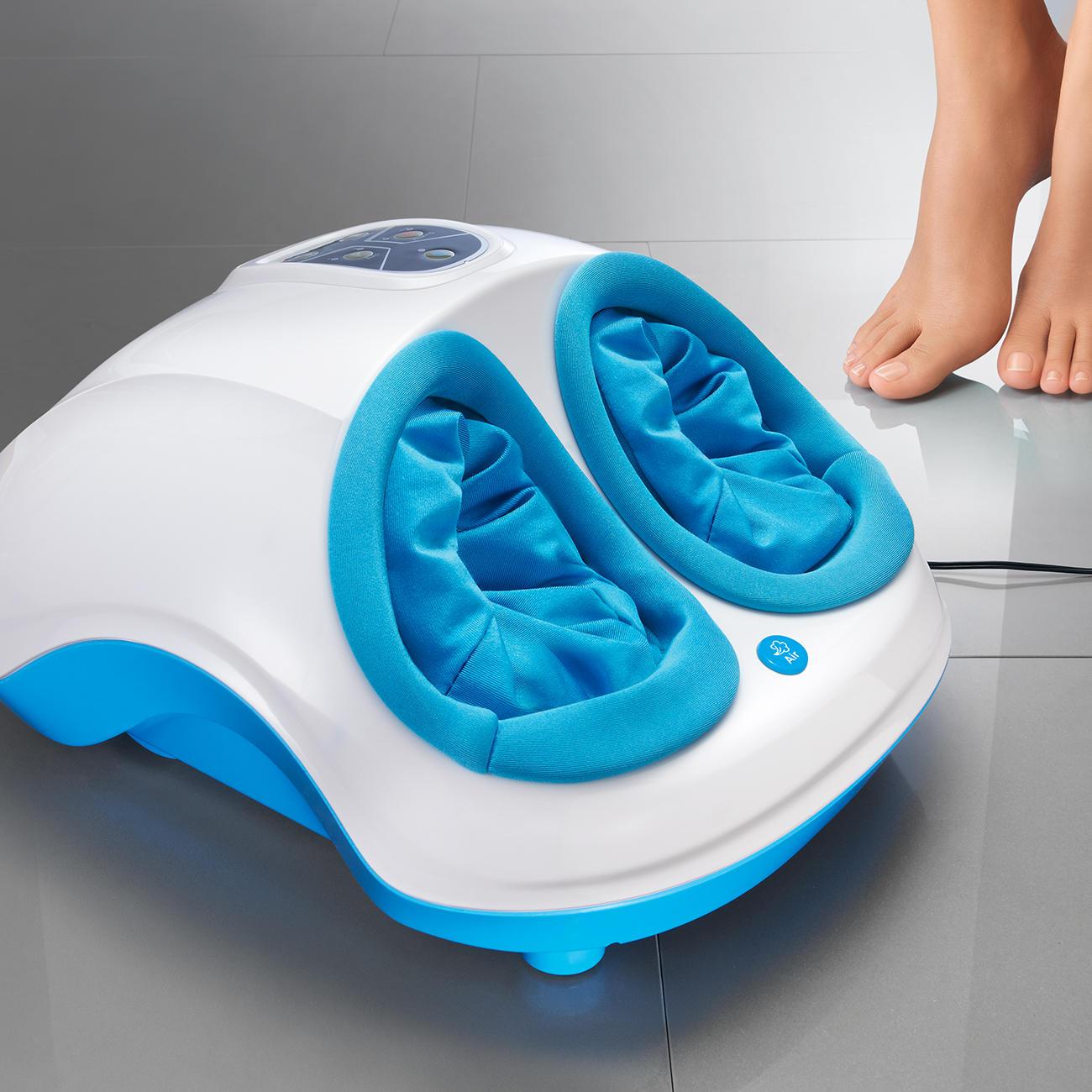 Arcotec Fussreflexzonen Massagegerät Fuß-Fit-Maxx :: Weiß/Türkis -  -  - Erwachsene