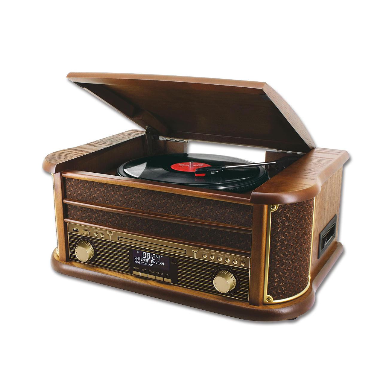 Nostalgie Stereo Musikcenter mit Bluetooth NR545DAB 50er Jahre