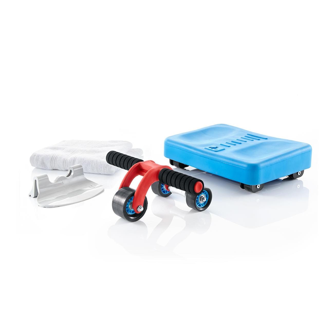3-Rad-Bauchmuskel-Roller