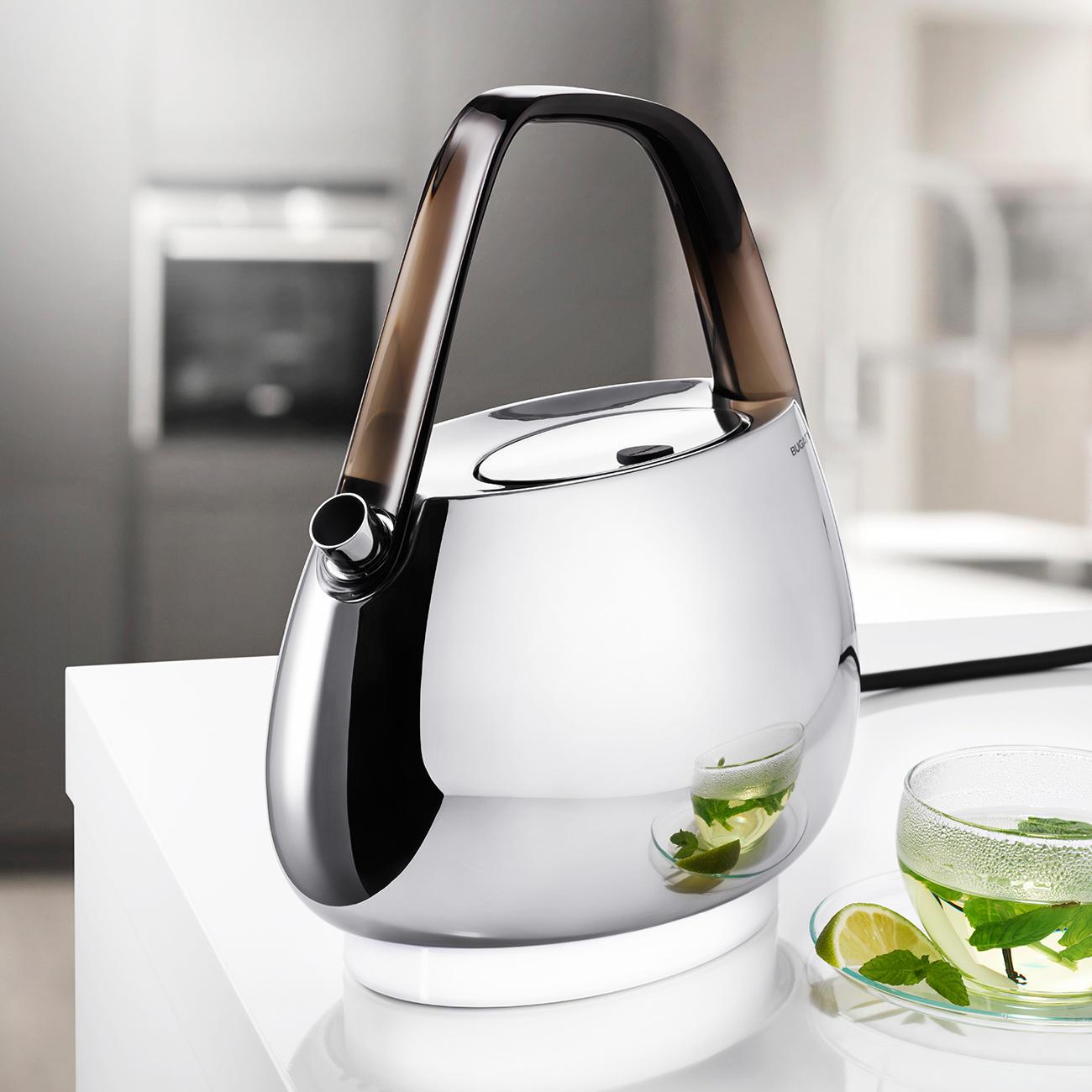 Bugatti® Design-Wasserkocher :: Silber -  -  - Erwachsene
