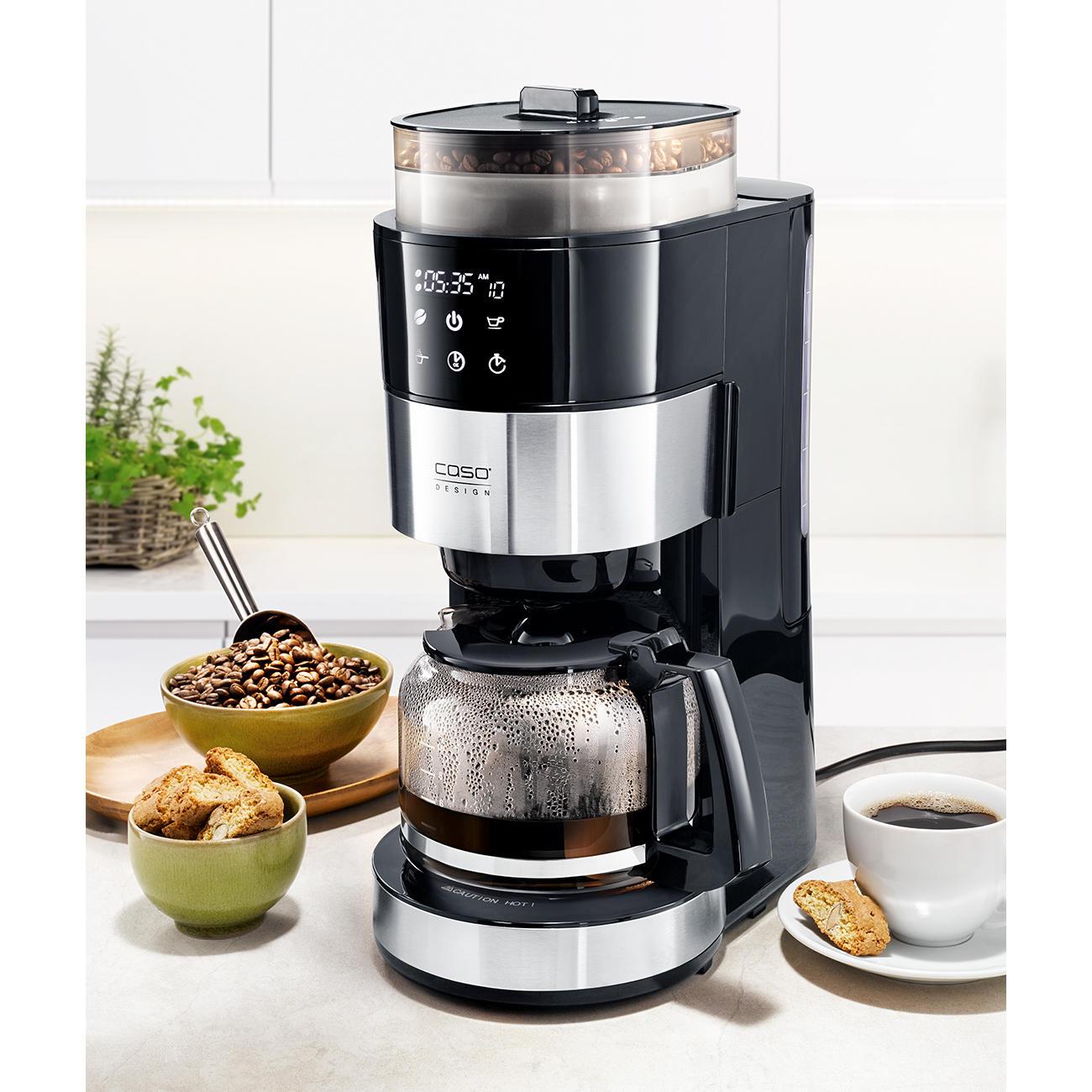 Caso Kaffeemaschine mit Mahlwerk :: Silber -  -  - Erwachsene
