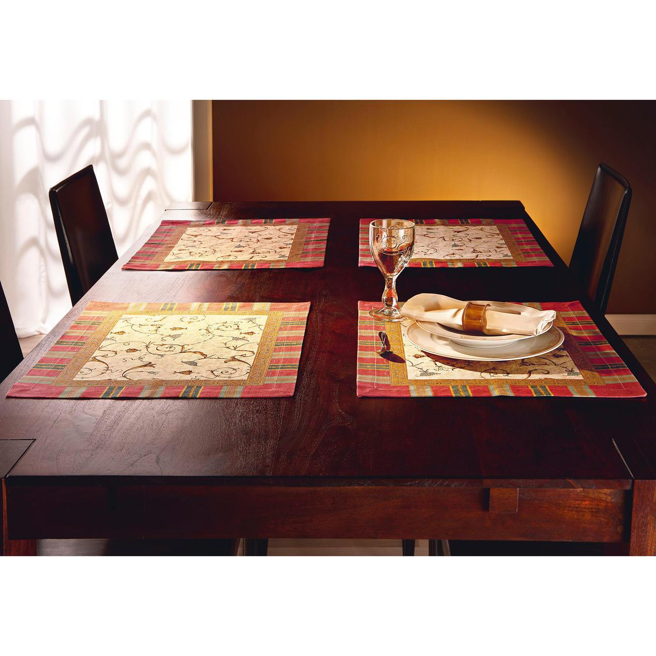 Granfoulard Tischsets Oplontis V8, 2er-Set, 40 x 50 cm