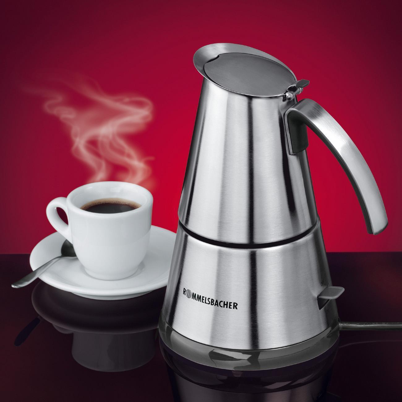 Espressokocher EKO 364/E Elpresso mini, Edelstahl