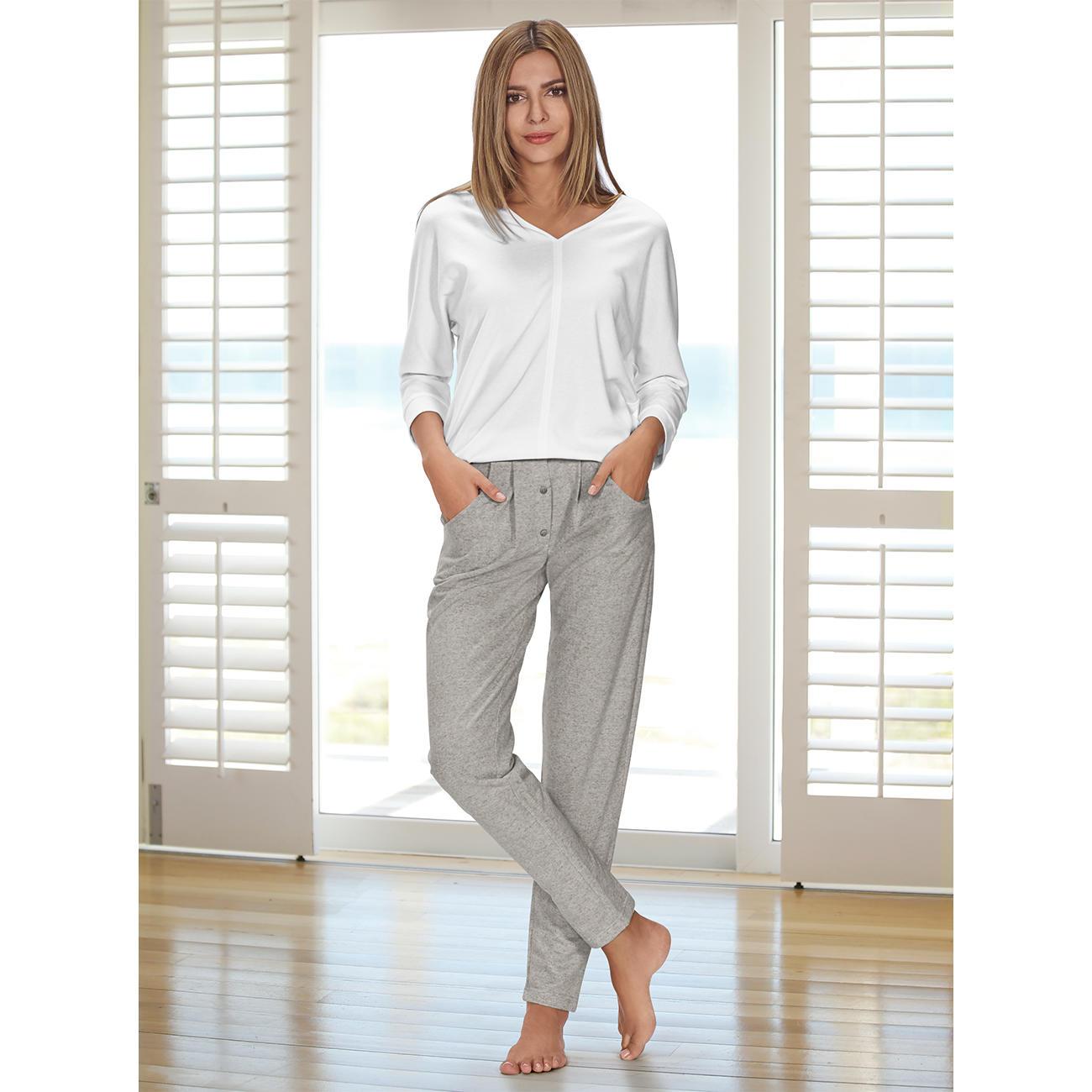 HFor Sweatshirt oder Sweat-Pants, 44/46 - Weiß - Sweatshirt :: Weiß - 44/46 -  - Erwachsene