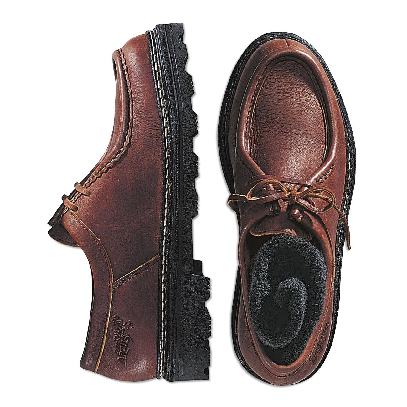 Elchleder-Schuhe, 41 - Braun