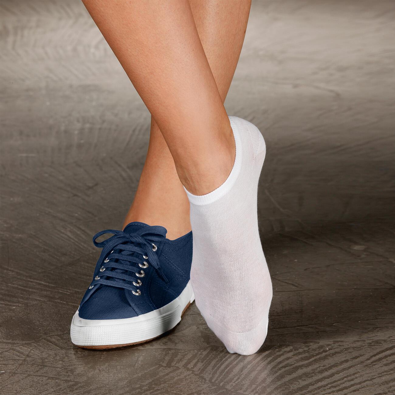 Sommer-Socken, 2-Paar-Set, Weiß