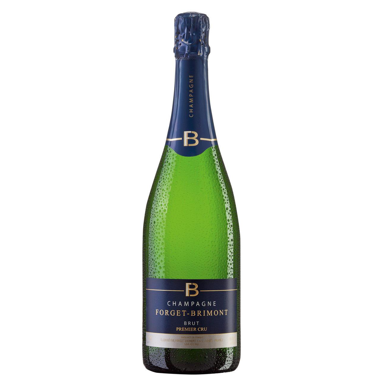 Champagne Forget-Brimont Brut Premier, Forget-Brimont, Champagne AOC, Frankreich, 1 Flasche à 0,75 l